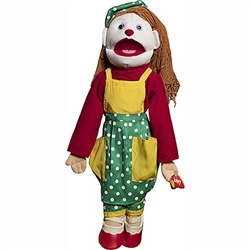 Female Clown Puppet