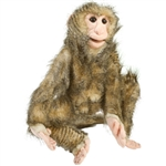 Brown Monkey Puppet