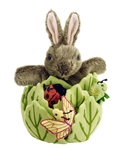 Rabbit in Lettuce Puppet