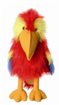 Scarlet Macaw Parrot Puppet