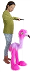 "Giant Flamingo Marionette (36"")"