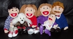 Family Puppet Set