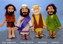 Bible Character Puppets Set