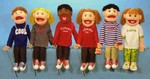 Neighborhood Kids Puppet Set