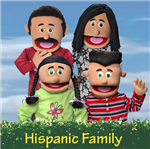 Hispanic Puppets Set