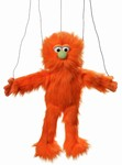 Orange Monster Marionette