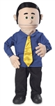 George (Peach) - Professional Puppets