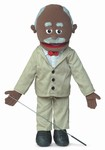Pops (Black) - FullBody Puppet
