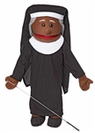 Nun puppet Black