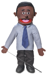 Calvin (Black) - FullBody Puppet