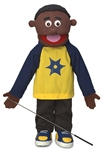 Jordan (Black) - FullBody Puppet