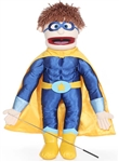Superhero Boy Puppets