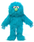 Blue Monster Hand Puppet