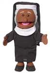 Nun Hand Puppet Black