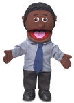 Calvin (Black Dad) Puppet - Hand Style