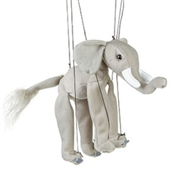 Elephant Marionette Small