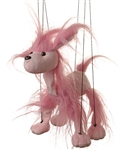 Pink Poodle Marionette Small