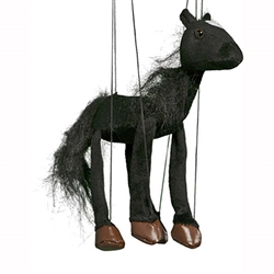 Black Horse Marionette Small
