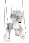 Grey Wolf Marionette Small