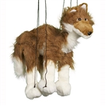 Red Wolf Marionette Small