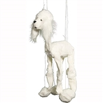 White Poodle Marionette