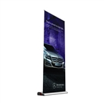 Easy Graphic Swap Telescoping Banner Stand