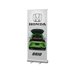 "33""W Economy Retractable Banner"
