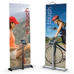 "36""W Hybrid Pro Mercury Retractable Banner Stand"