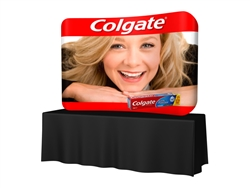 8ft TubOzip Tension Fabric Tabletop Display