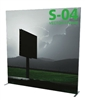 "94""W x 94""H - Vector Frame Banner Stand - 04"