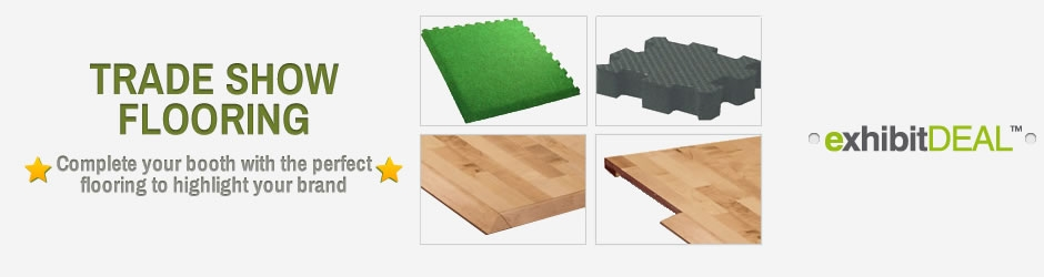 Trade Show Booth Options : Trade show flooring options exhibitdeal