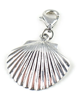 Sterling Silver Sea Shell Charm