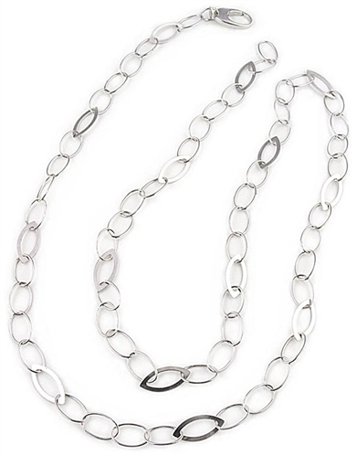 100cm Sterling Silver Chain Necklace by Paula Rosellini
