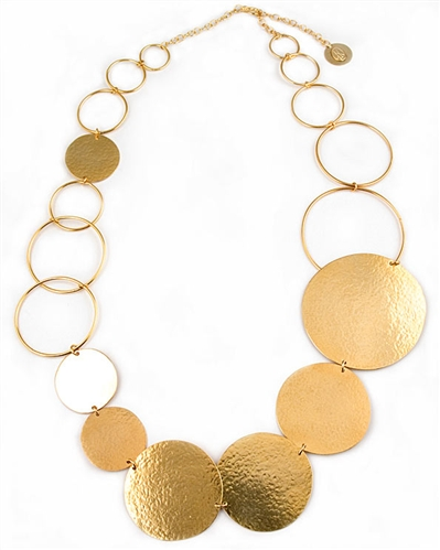 Herve Van Der Straeen Gold Necklace