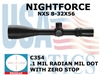 NIGHTFORCE NXS 8-32x56 MIL DOT WITH ZERO STOP