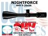 <FONT COLOR = RED>THIS ITEM HAS BEEN DISCONTINUED BY NIGHTFORCE</FONT> SHV 5-20x56 IHR NON-ILLUMUNATED
