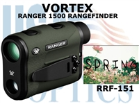 "VORTEX RANGER 1500 RANGEFINDER WITH HCD <FONT COLOR = ""RED"">LIMITED AVAILABILITY</FONT>"