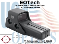 EoTech 512.A65 HOLOGRAPHIC WEAPON SIGHT