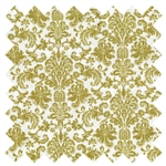 Home for the Holidays Damask Gold 03265-77 from Benartex