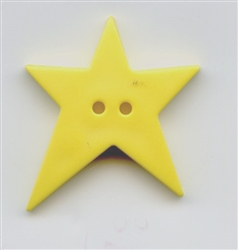 Country Star Yellow 154519 from Dill Buttons