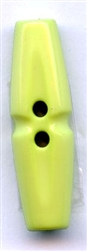 Tube Polyamid Toggle Button 211638-Light Green Dill Buttons of America