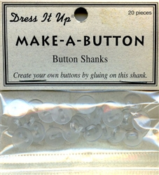 Button Shanks Make-A-Button Dress It Up #2453 from Jesse James