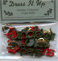 Jingle Bells Flat Back Holiday Collection Dress It Up #2471 from Jesse James