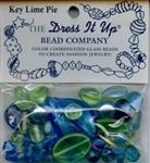 Key Lime Pie Glass Beads Dress It Up #2521 from Jesse James