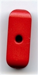 Rectangle Tube Polyamid Button 350399-Red Dill Buttons of America