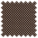 Polka Dots Chocolate Color Basic 4505-C  Lecien