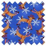 It's Christmas Reindeer 4JHF1 Blue In the Beginning