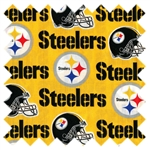 NFL Pittsburgh Steelers Football 6336 Yellow from Traditions