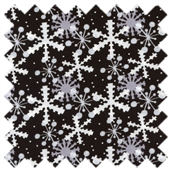 It's Christmas Multi Snowflake 7JHF3 Black In the Beginning