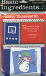Basic Ingredients Holiday Dishtowel Kit Sparkle #BI-Spkt from Wimpole Street Creations